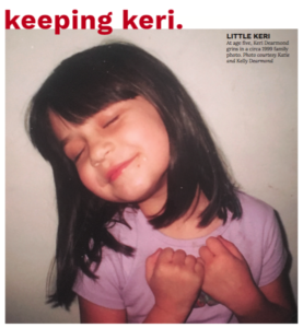 Keeping Keri-  A young adult battles with heroin addiction, a story all too common in Louisville.