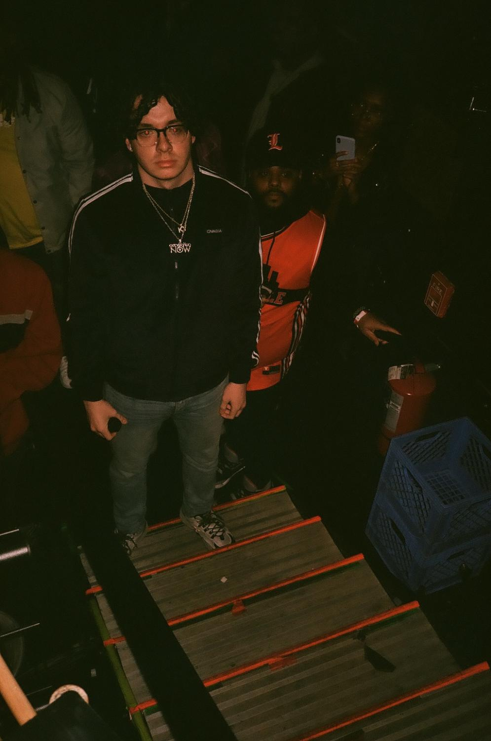 Jack Harlow at his Dec. 29 show at Mercury Ballroom. Photo by Urban Wyatt