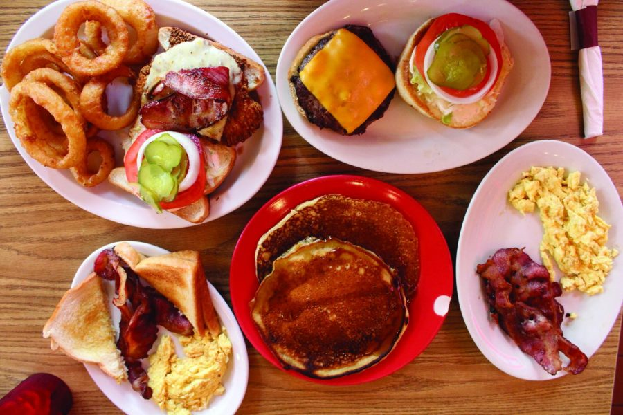 This tasty meal is just a few of the selections off Burger Boy's Menu, a local diner that On The Record reviewed this past fall for our Winter 2020 print issue.