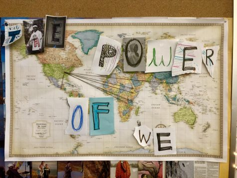 "The Power of We is our newest package story, featured in the issue ""Home and Away"""