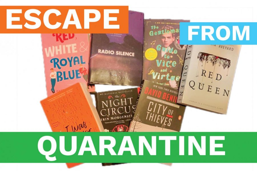 Escape From Quarantine: Book Recommendations!