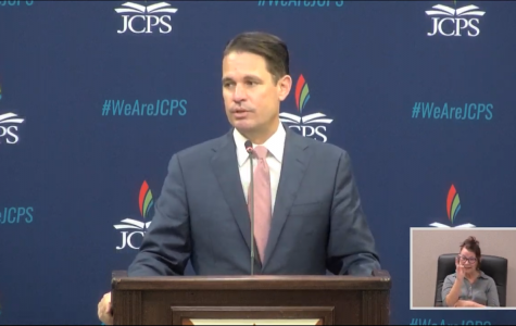 Dr. Marty Pollio announces new plan for resuming in-person classes.