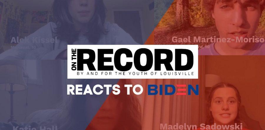 Louisville Teens react to the Biden/Harris Projected Victory